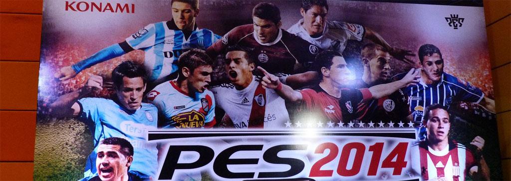 Lanzamiento oficial PES 2014