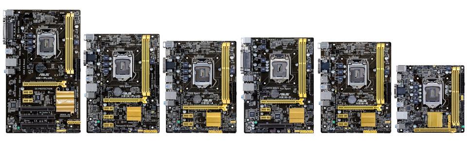 ASUS presenta motherboards con chipset Intel H81 en Argentina