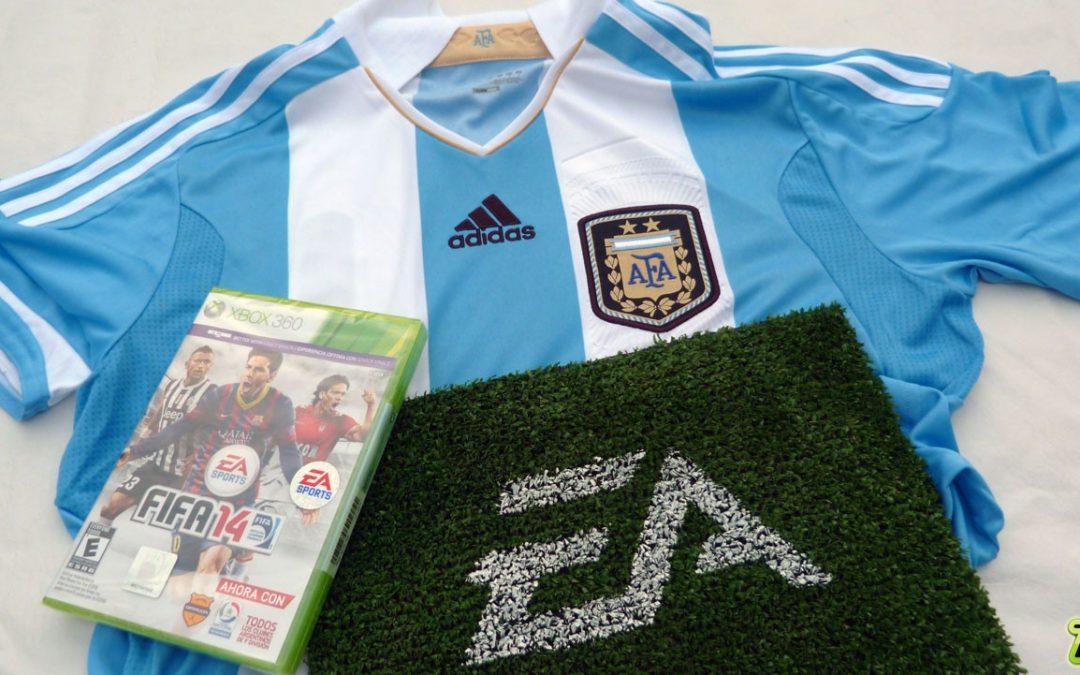 Unboxing FIFA 14 edición especial Argentina