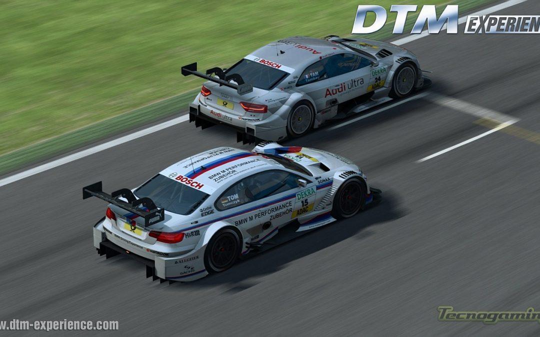 Llega la demo de DTM Experience Racing