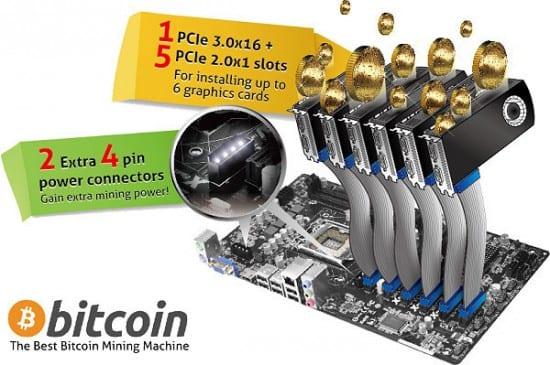 ASRock anuncia sus mothers H81/H61 Pro BTC para minería