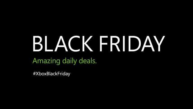 XBOX Live trae ofertas de Black Friday