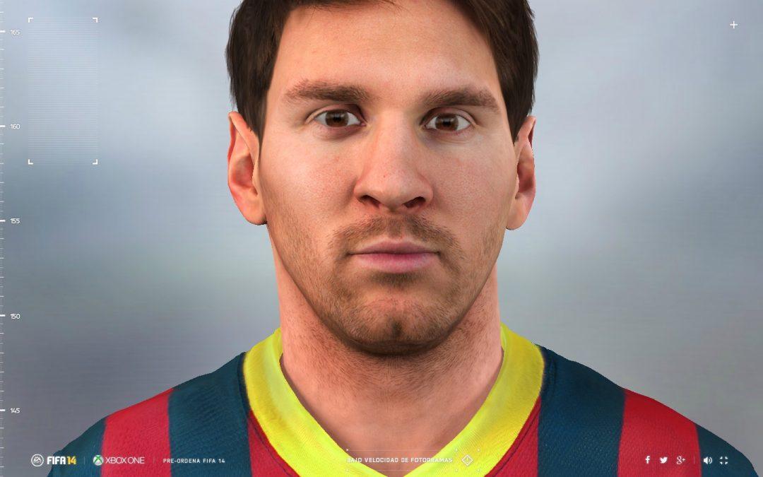 Conocé el avatar en tiempo real de Lionel Messi!