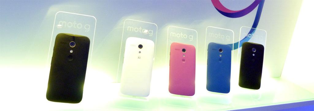Motorola lanza Moto G