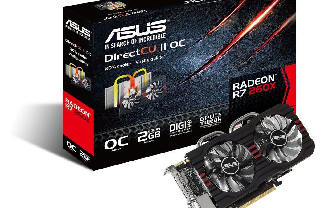 ASUS lanza Radeon R9 y R7 DirectCU II