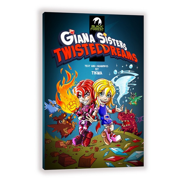 Giana Comic Album Cover-3D
