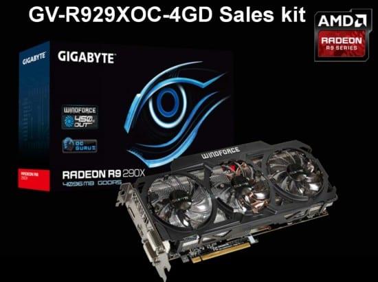 Gigabyte detiene su producción de Radeon R9 290 WindForce