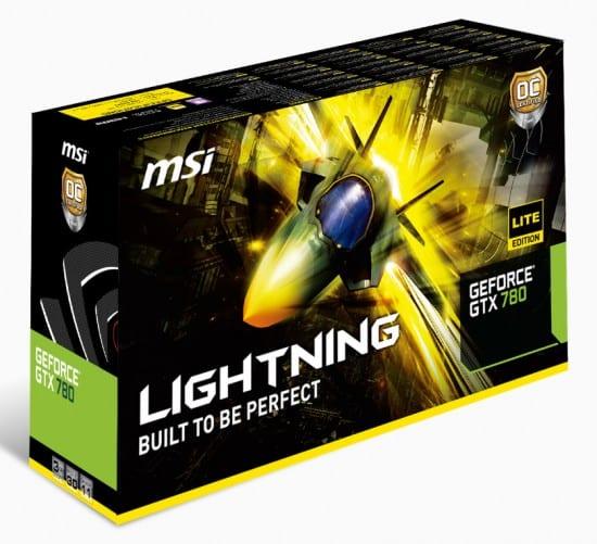 MSI muestra su GeForce GTX 780 Lightning Lite Edition