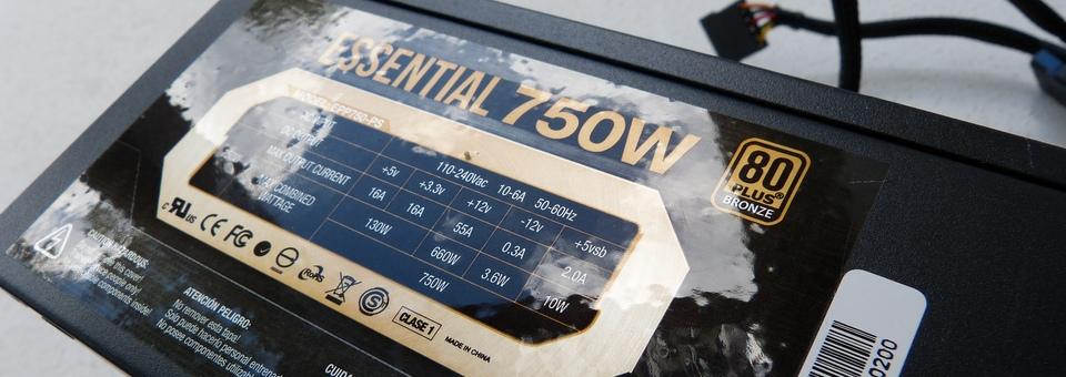 Sentey Essential 750W Performance