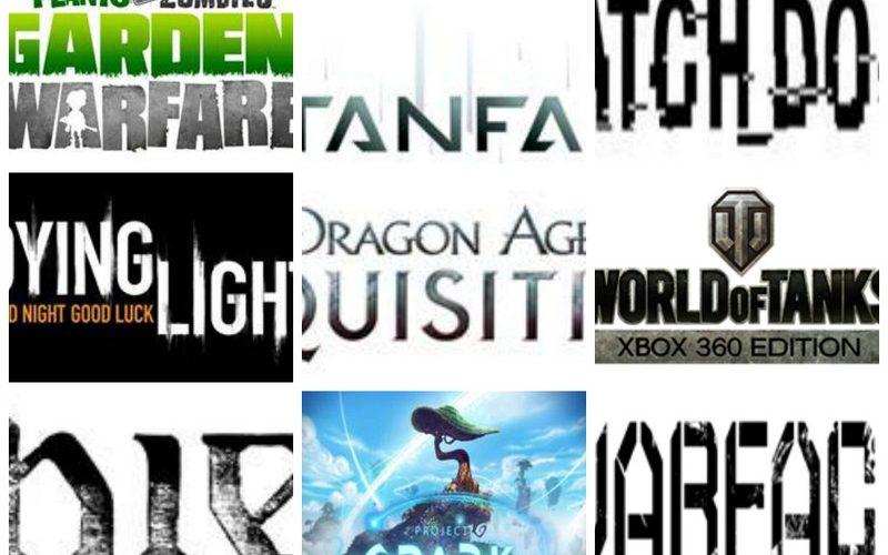 Los mejores videojuegos para el 2014