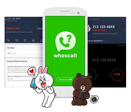 LINE whoscall ya se encuentra disponible para dispositivos Android