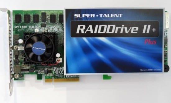 Super Talent anuncia su RAIDDrive II Plus