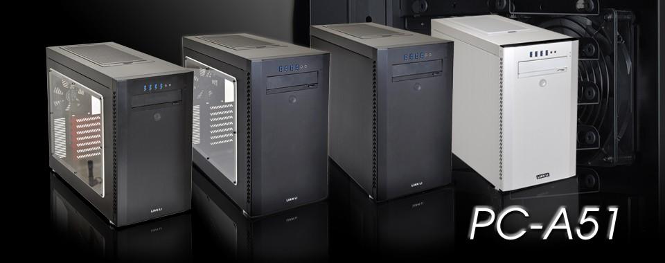 Lian Li lanza sus gabinetes PC-A51 Aluminum Mid-Tower