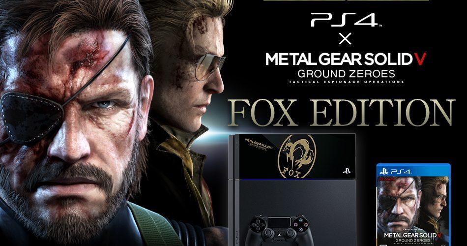 Revelada la edición limitada del Metal Gear Solid 5 para PS4