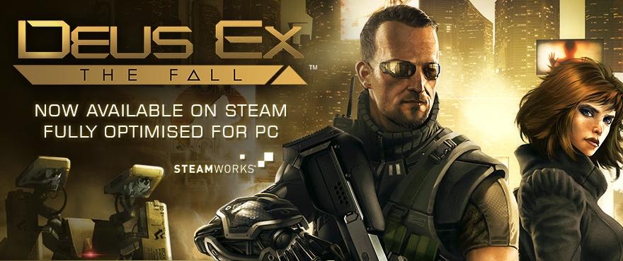 Deus Ex: The Fall disponible en Steam