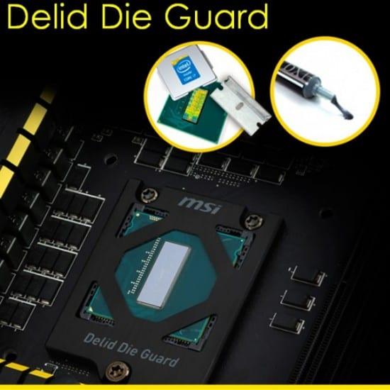 """MSI anuncia su tecnologia """"Delid Die Guard"""" para mothers Z97"""