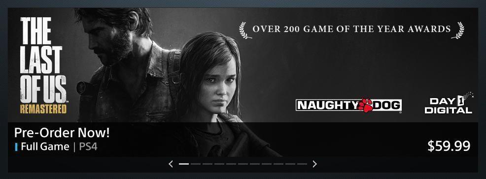 The Last of Us: Remasterizado se ha revelado para PS4