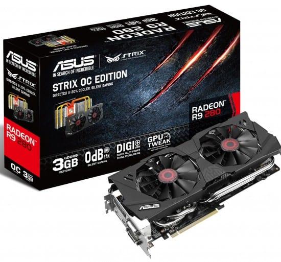 Asus anuncia su Radeon R9 280 Strix OC