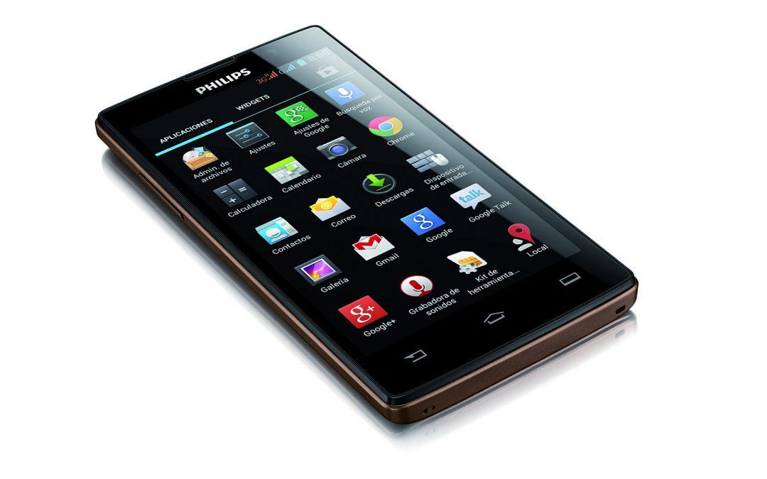 Philips presenta sus nuevos smartphones en Argentina