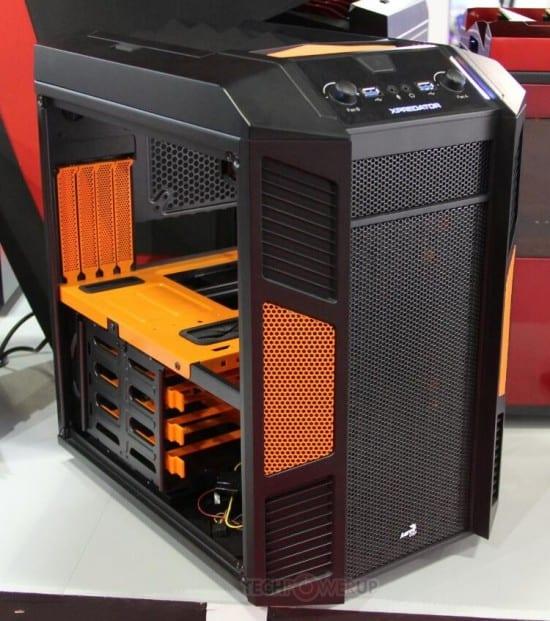 AeroCool XPredator muestra su gabinete Cube