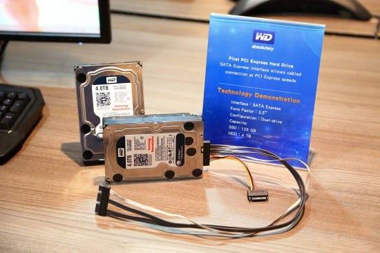 WD presenta su HDD híbrido SATA express