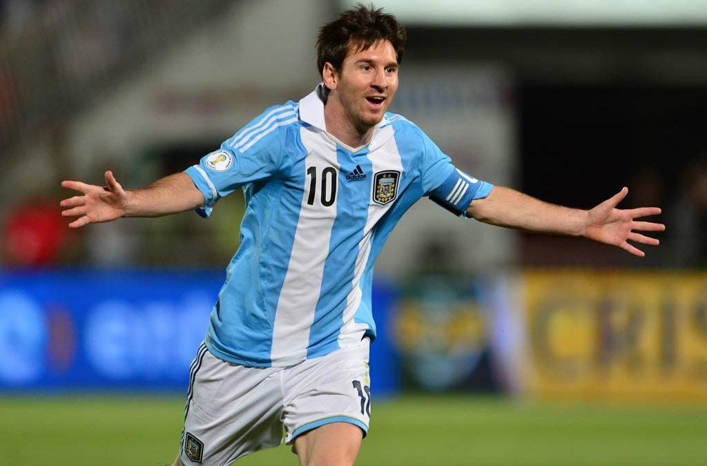 Messi es el jugador con más apoyo en Twitter