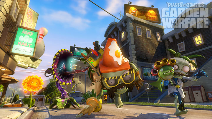 Plants vs. Zombies Garden Warfare disponible para PC