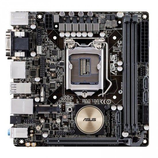 Asus presento su mother Mini-ITX H97I-Plus