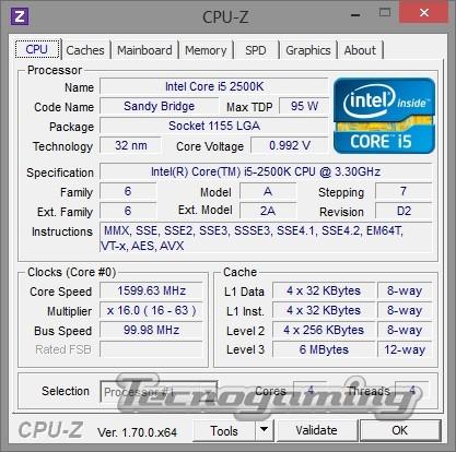 CPU-Z 1.70 ya disponible para descarga