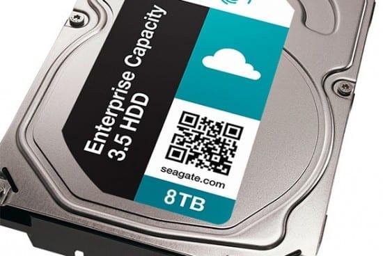 Seagate lanza el primer disco duro de 8TB del mundo