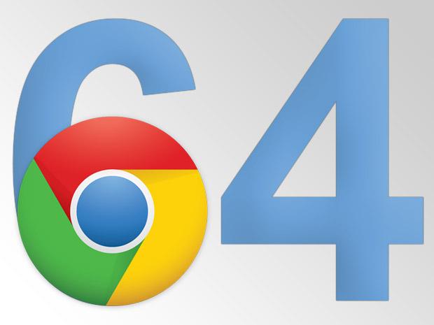 Ya disponible Chrome de 64-bit para Windows 7 y 8