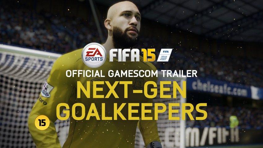 Porteros de la siguiente generación en FIFA 15