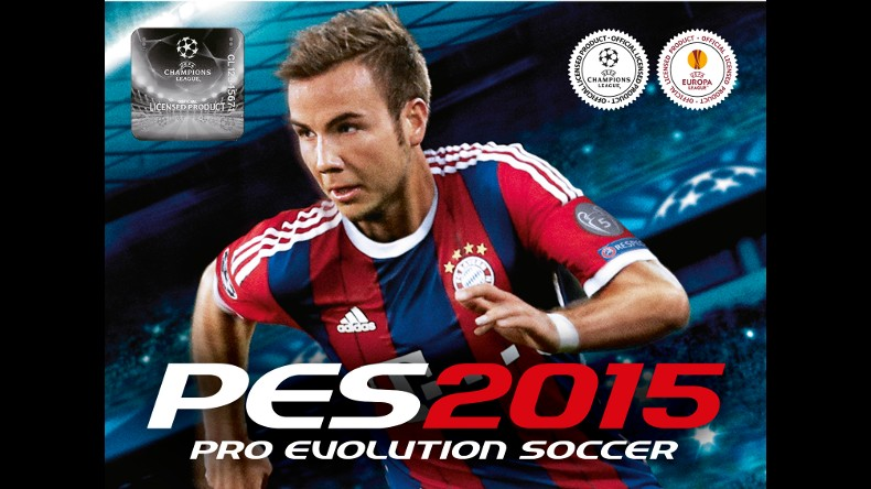 Mario Götze es la nueva portada del PES 2015