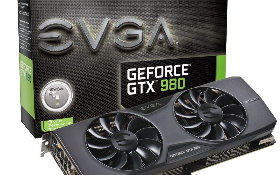 EVGA anunció sus nuevas GTX 980 y GTX 970
