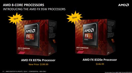 AMD lanza sus CPUs FX-8370, FX-8370E y FX-8320E (Reviews)