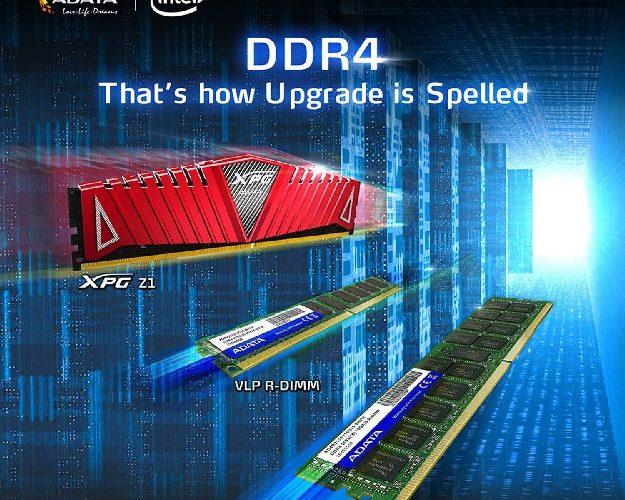 ADATA presenta memorias DDR4