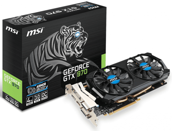 MSI anuncia la GeForce GTX 970 4GD5T OC