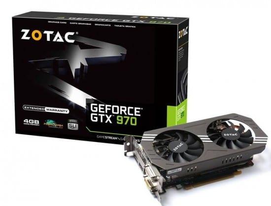 Se filtran los precios de las tarjetas Zotac GeForce GTX 980/970