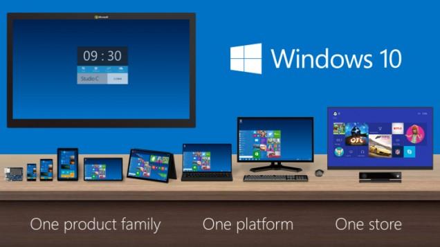 Microsoft presenta el Windows 10