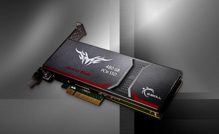 G.Skill anuncia su SSD PCIe Phoenix Blade
