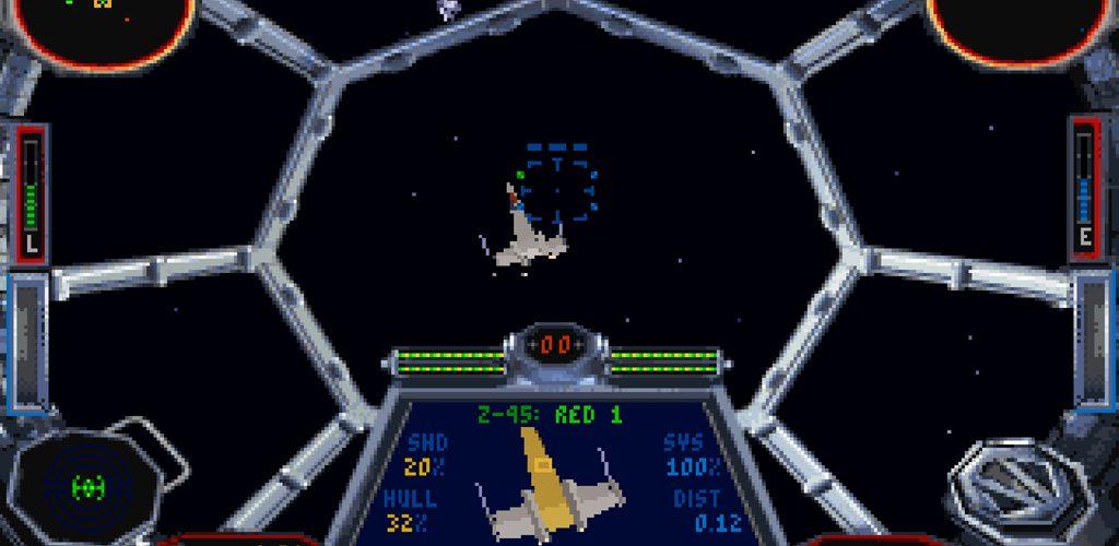 X-Wing y Tie Fighter en GoG