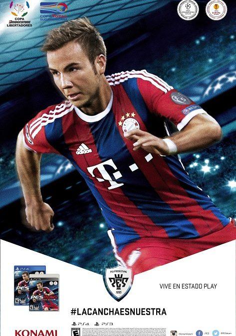 Konami anunca PES 2015
