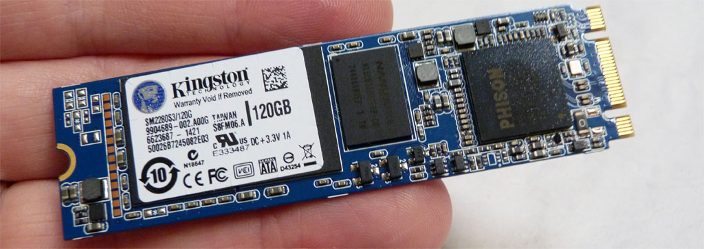 Kingston 120GB M.2 SATA SSD