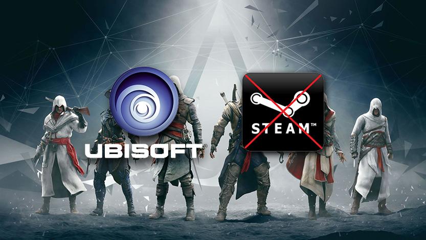 Ultimos titulos de Ubisoft desaparecen de Steam