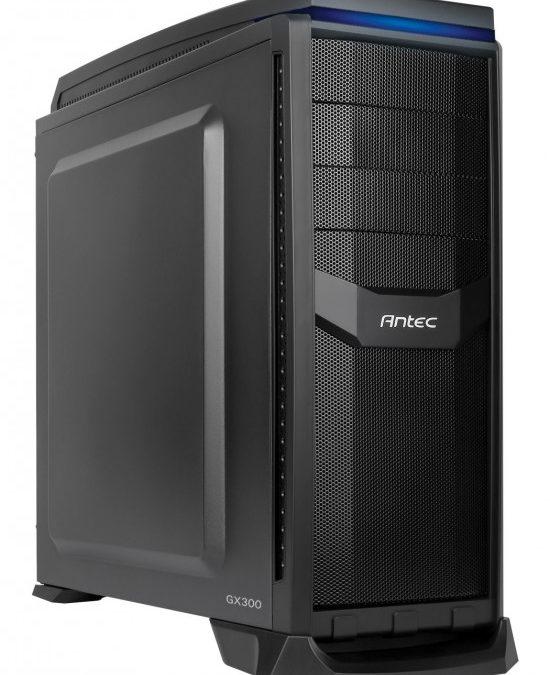 Antec anuncia su gabinete de gama baja GX300