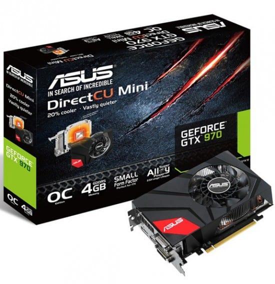 Asus presenta su GeForce GTX 970 DirectCU MIni