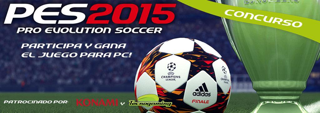 Ganate el PES 2015 para PC!