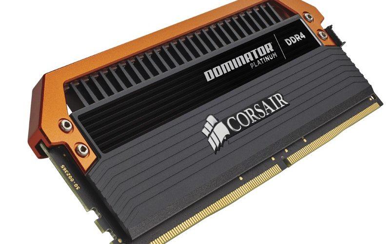 Corsair presenta sus Dominator Platinum DDR4 a 3400 MHz
