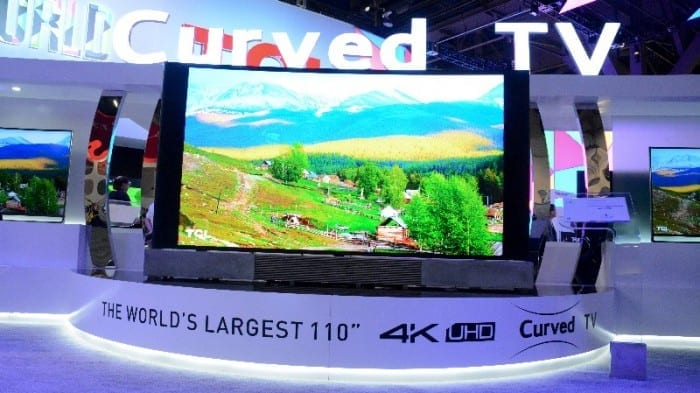 TCL 110 Curved 4K 3