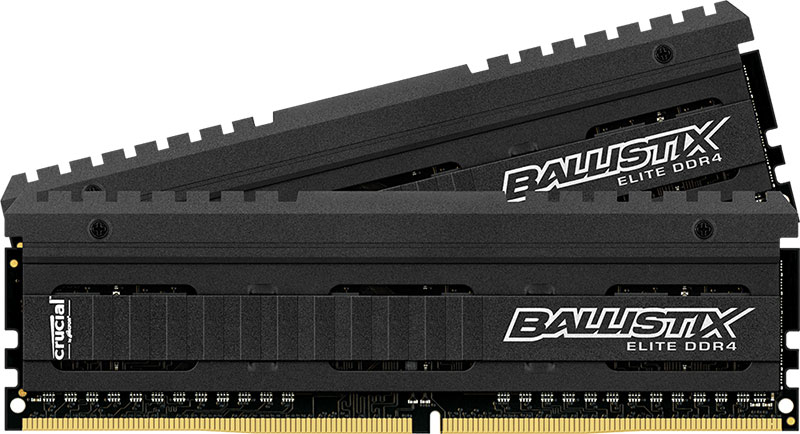 Crucial presenta sus memorias Ballistix Elite DDR4